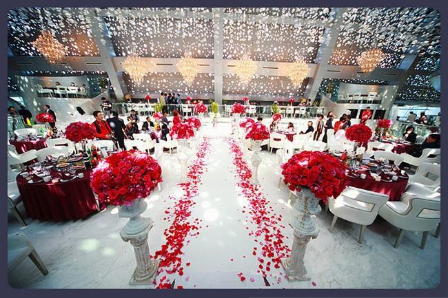 Wedding flower petals 1-7
