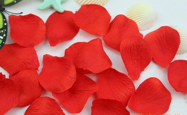 Wedding flower petals 1-2