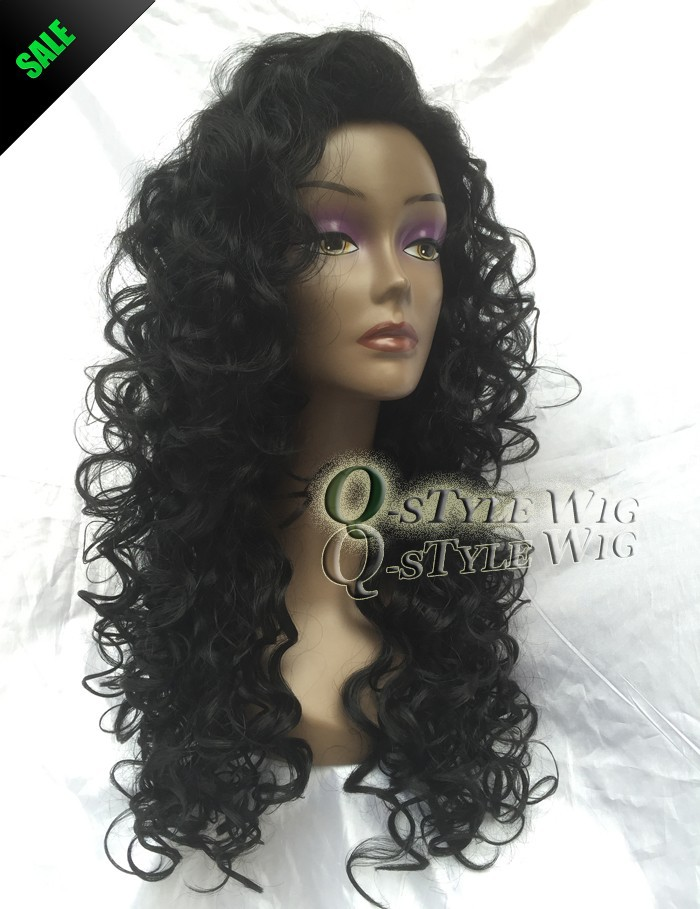 African American Wigs Synthetic Fiber Short Afro kinky Curly Hair Wigs for Black Women Lace Front U Part Wigs (2)