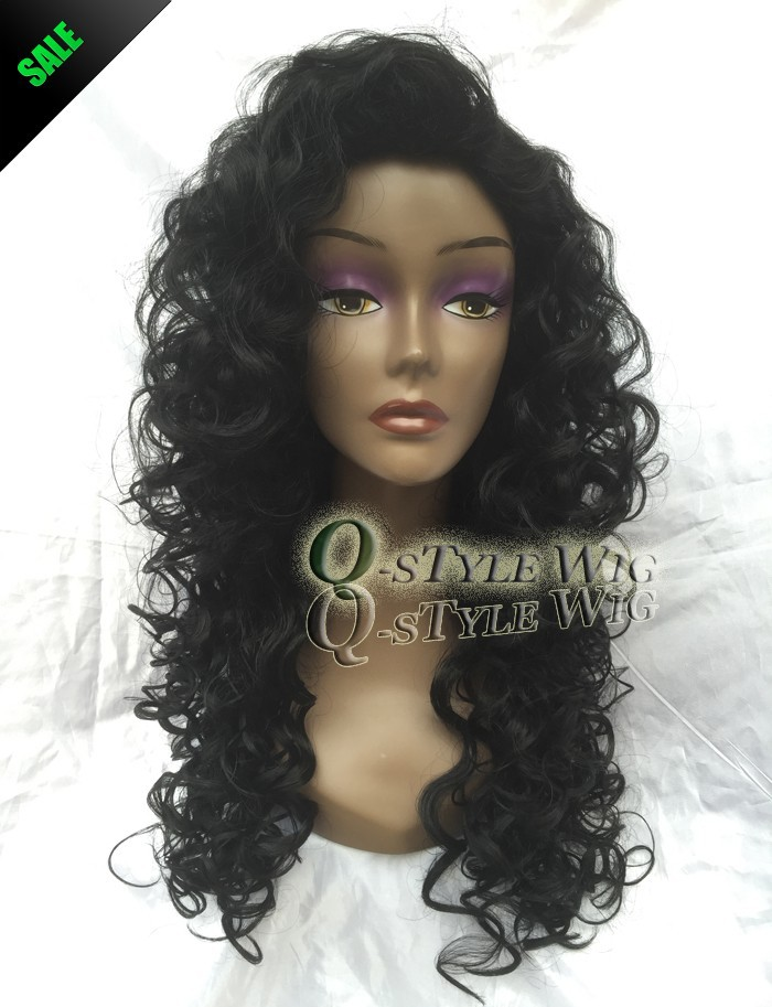 African American Wigs Synthetic Fiber Short Afro kinky Curly Hair Wigs for Black Women Lace Front U Part Wigs (3)