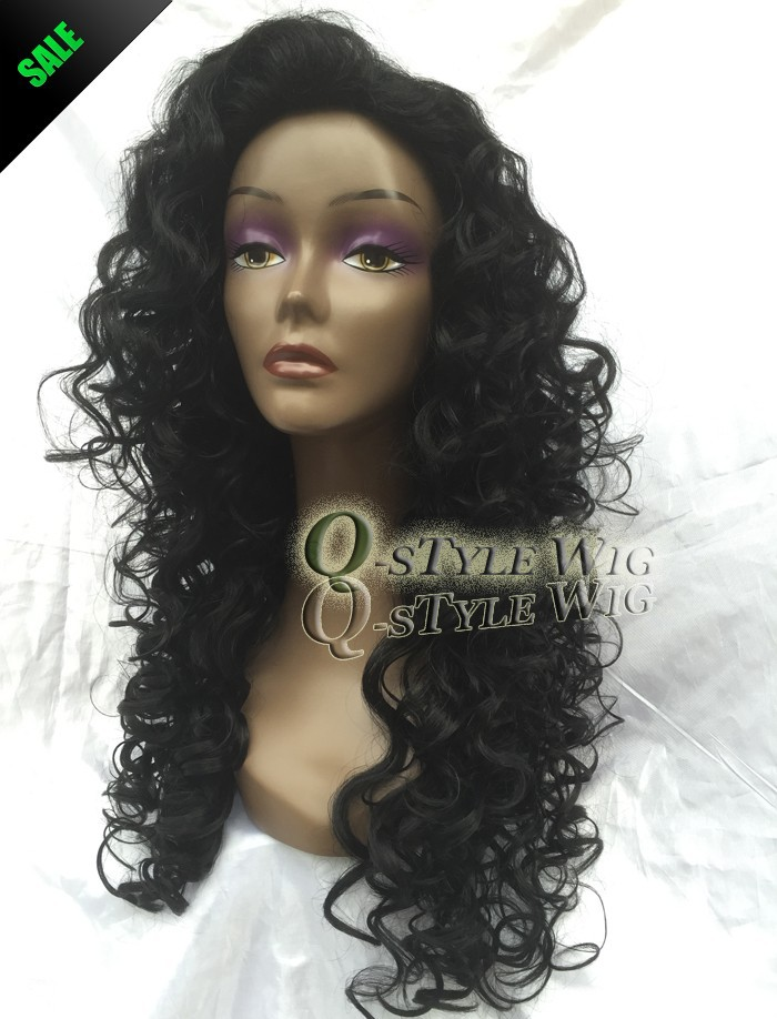 African American Wigs Synthetic Fiber Short Afro kinky Curly Hair Wigs for Black Women Lace Front U Part Wigs (1)