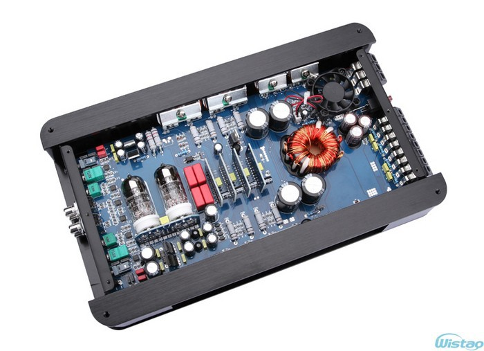 HIFI Car Amplifier 4 Channels Audio 6992 Tube Preamplifier Transistors  Power Stage Class AB RMS Power 85 W X 4 Black DIY Cheap Speakers And Amps  For