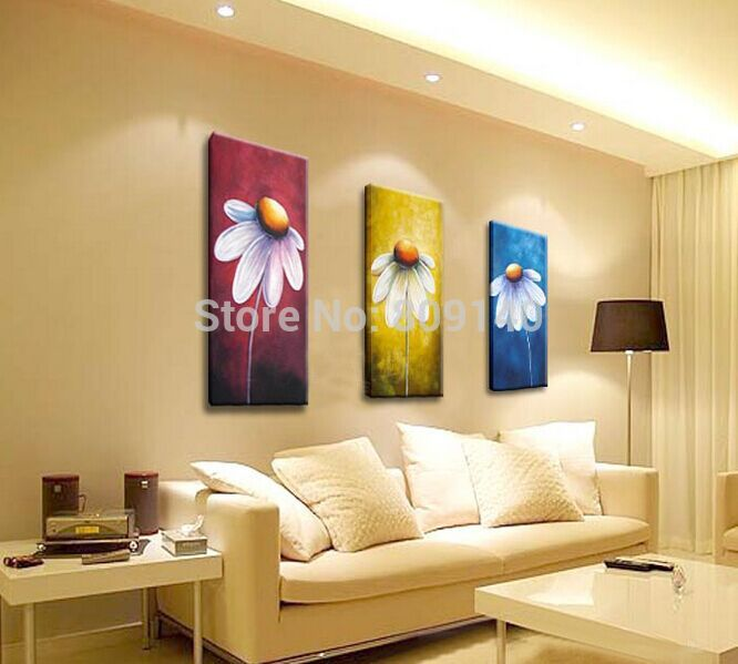 Abstract Portrait oil painting canvas decorative Artwork High ...
