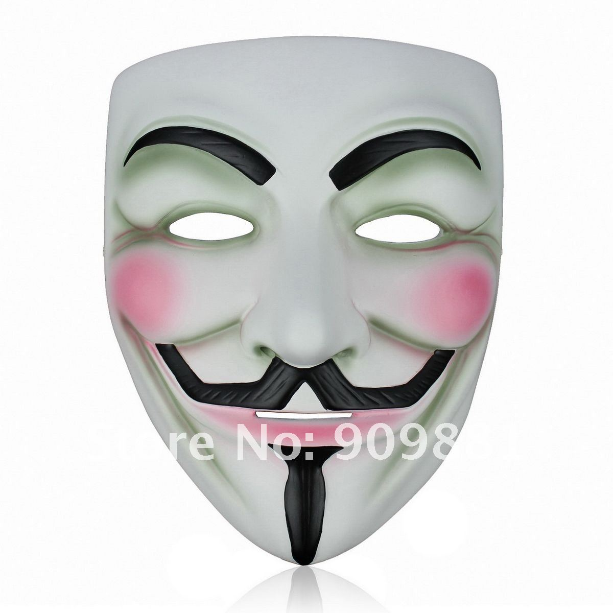 Movie V Mask For Vendetta Anonymous Mascara Mask Cosplay Face Guy ...