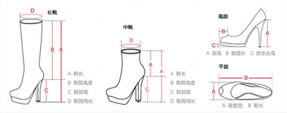 Shoes Size Chart 2
