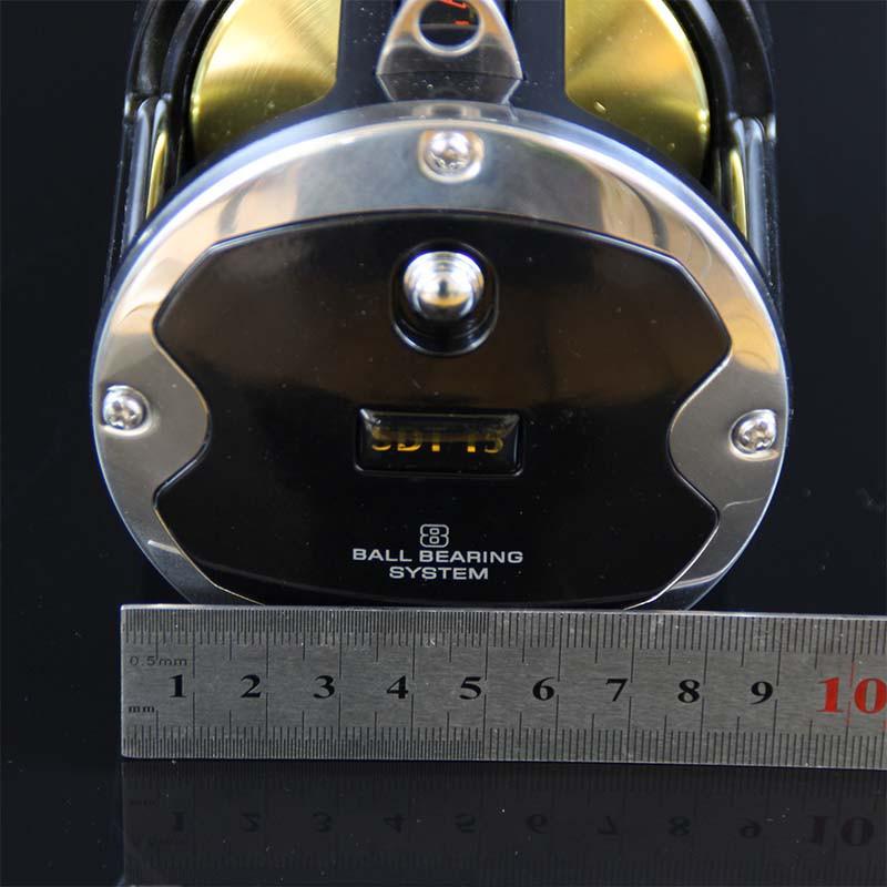 High Quality Big game trolling sea fishing reel saltwater 55LB Power 3.41 Gear ratio 8BB boat fishing jigging reel (9)
