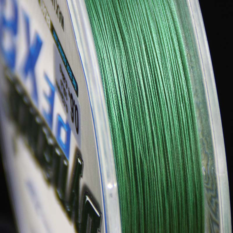 Super Strong 8 strand pe braided fishing line 100m moss green #0.4-#10 braided fishing line 15Lb 30LB braided line for fishing (9)