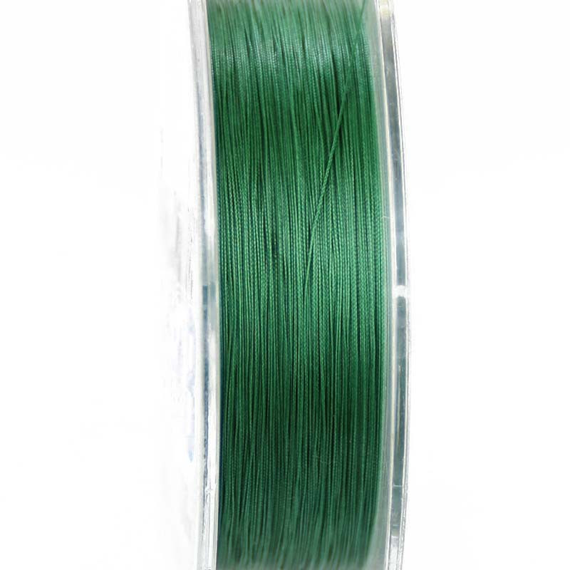 Super Strong 8 strand pe braided fishing line 100m moss green #0.4-#10 braided fishing line 15Lb 30LB braided line for fishing (8)