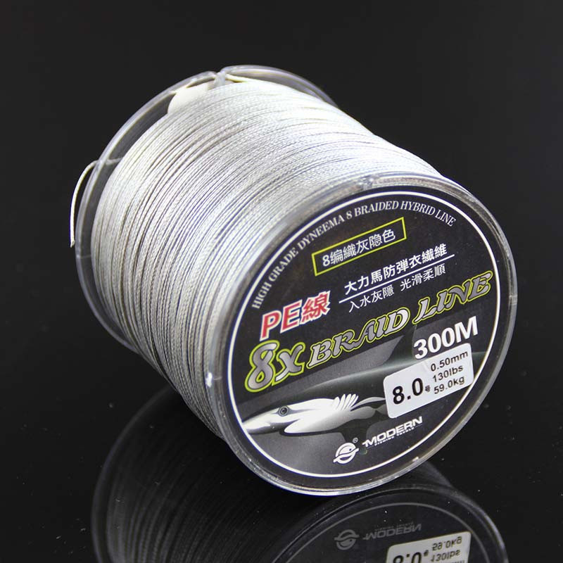 Super Strong 8 strand pe braided fishing line 300m 18LB 20LB 30LB 40LB 50LB 70LB 80LB 130LB 8 strands braided line for fishing (4)