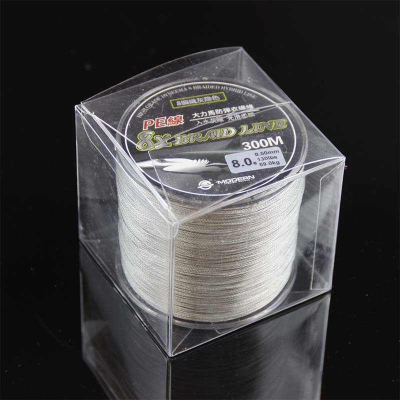 Super Strong 8 strand pe braided fishing line 300m 18LB 20LB 30LB 40LB 50LB 70LB 80LB 130LB 8 strands braided line for fishing (3)