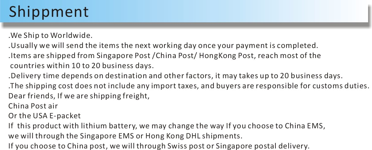 Shippment