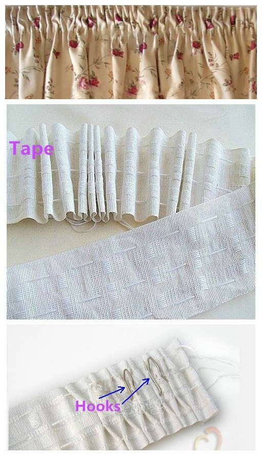 tape with ribbons