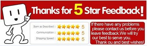 5 Star Feedback