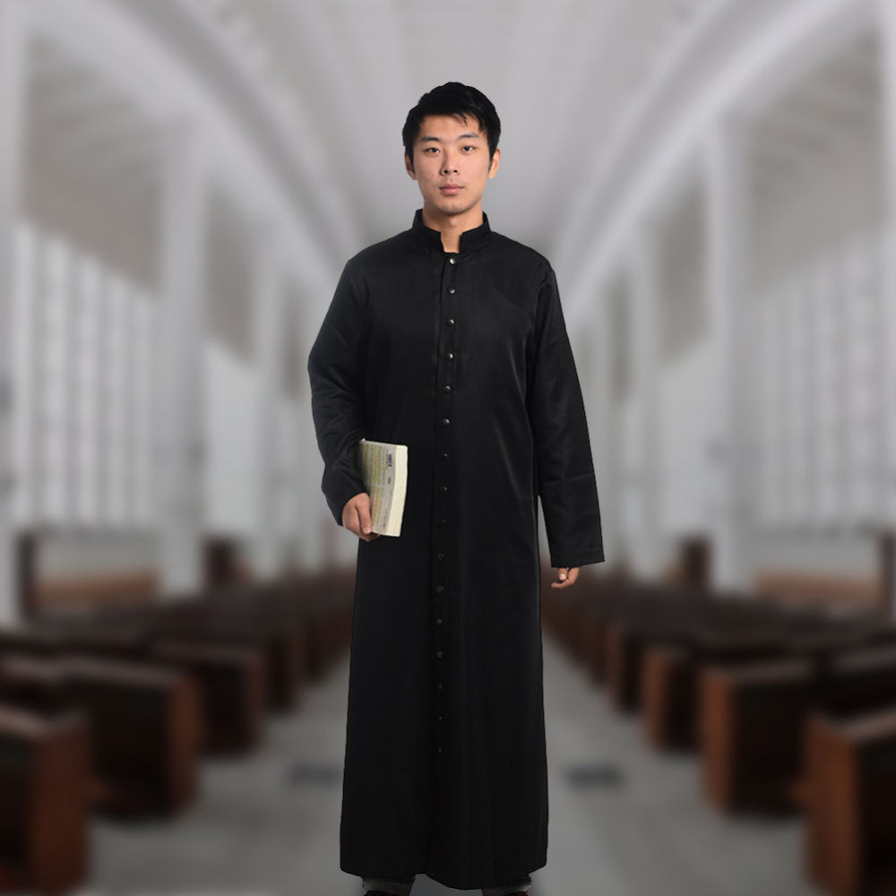 Black Clergy Cassock