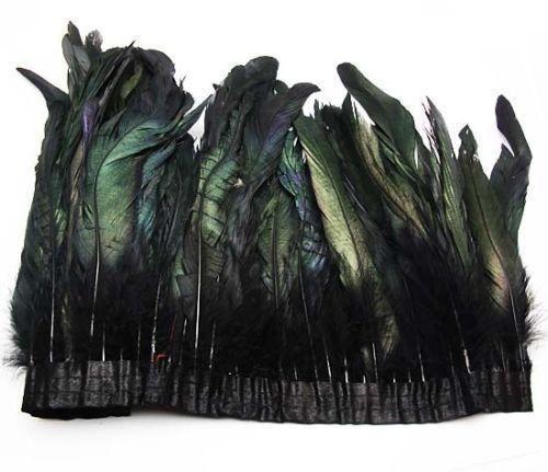 AB-Black-Color-Feather-Boa-DIY-Wrap-Cape-Shawl-Poncho-Skirt-Stole-50cm