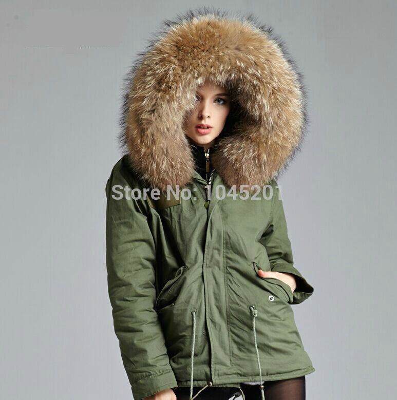 4-colors-2015-new-winter-army-green-jacket-outwear-thick-parkas-plus-size-white-raccoon-fur (4)