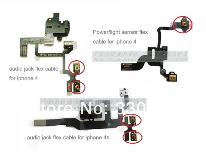 For iPhone 4S 4 sleep button Light sensor.jpg