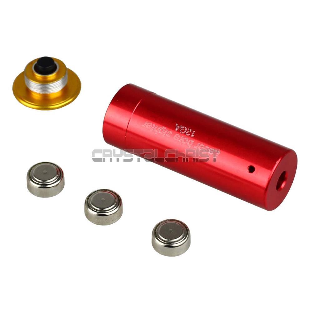 12 Gauge Laser Cartridge Bore Sighter 12GA Shot Gun Boresighter