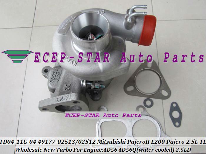 TD04-11G-04 49177-02512 49177-02513 Turbo Turbine Turbocharger For Mitsubishi Pajero L200 Pajero 2.5 TD 4D56 (6)