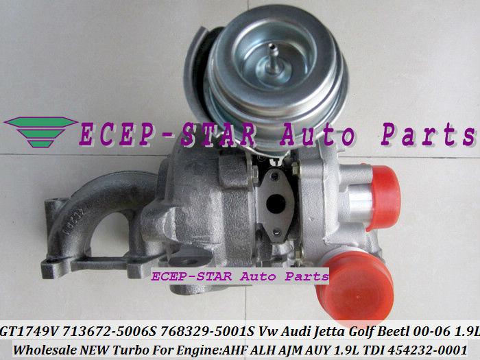 GT1749V 713672 713672-5006S 768329-5001S 454232-0001 For VW AUDI Jetta Golf Beetl 2000-06 1.9TDI AHF ALH AJM AUY 1.9L TDI (1)