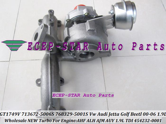 GT1749V 713672 713672-5006S 768329-5001S 454232-0001 For VW AUDI Jetta Golf Beetl 2000-06 1.9TDI AHF ALH AJM AUY 1.9L TDI (2)