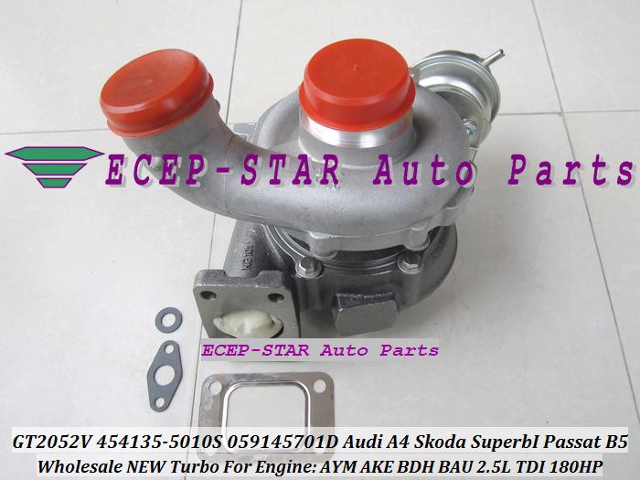 -GT2052V 454135-5010S 454135-0008 059145701D Turbo Turbocharger For Audi A4 Skoda Superb I Volkswagen Passat B5 AYM AKE BDH BAU 2.5L TDI (2).JPG