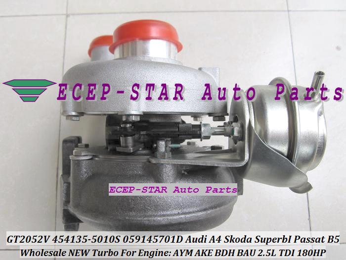 -GT2052V 454135-5010S 454135-0008 059145701D Turbo Turbocharger For Audi A4 Skoda Superb I Volkswagen Passat B5 AYM AKE BDH BAU 2.5L TDI (3).JPG