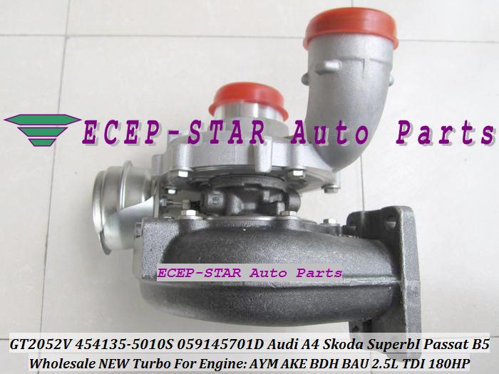 -GT2052V 454135-5010S 454135-0008 059145701D Turbo Turbocharger For Audi A4 Skoda Superb I Volkswagen Passat B5 AYM AKE BDH BAU 2.5L TDI.JPG