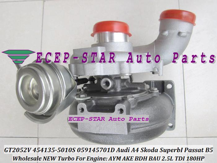 -GT2052V 454135-5010S 454135-0008 059145701D Turbo Turbocharger For Audi A4 Skoda Superb I Volkswagen Passat B5 AYM AKE BDH BAU 2.5L TDI (6).JPG
