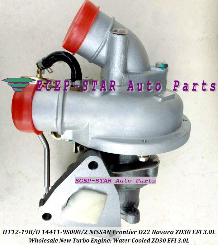 HT12-19B HT12-19D 14411-9S000 14411-9S002 14411-9S00 Turbocharger Turbo Turbine For NISSAN FRONTIER D22 Navara ZD30EFI EFI 3.0L (5)