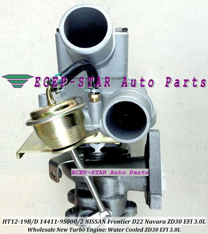 HT12-19B HT12-19D 14411-9S000 14411-9S002 14411-9S00 Turbocharger Turbo Turbine For NISSAN FRONTIER D22 Navara ZD30EFI EFI 3.0L (1)