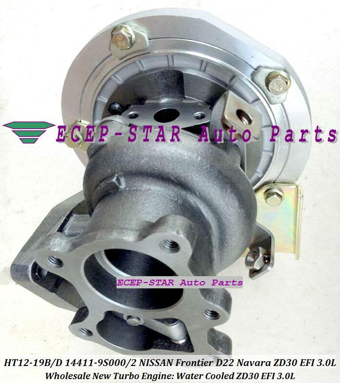 HT12-19B HT12-19D 14411-9S000 14411-9S002 14411-9S00 Turbocharger Turbo Turbine For NISSAN FRONTIER D22 Navara ZD30EFI EFI 3.0L (2)