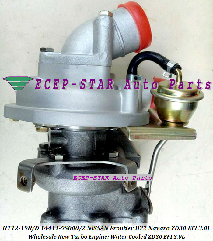 HT12-19B HT12-19D 14411-9S000 14411-9S002 14411-9S00 Turbocharger Turbo Turbine For NISSAN FRONTIER D22 Navara ZD30EFI EFI 3.0L (3)