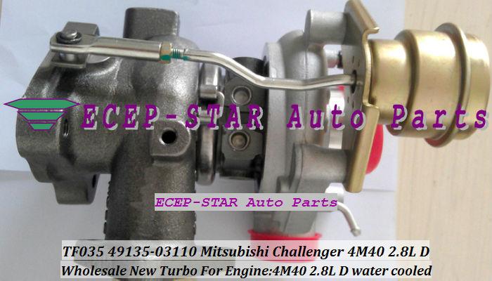 TF035 49135-03110 ME202012 MITSUBISHI CHALLANGER 4M40 2.8L D turbocharger turbo turbine (5)