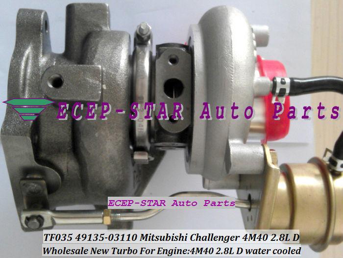 TF035 49135-03110 ME202012 MITSUBISHI CHALLANGER 4M40 2.8L D turbocharger turbo turbine (4)