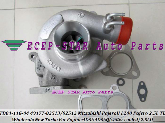 TD04-11G-04 49177-02512 49177-02513 Turbo Turbine Turbocharger For Mitsubishi Pajero L200 Pajero 2.5 TD 4D56 (5)