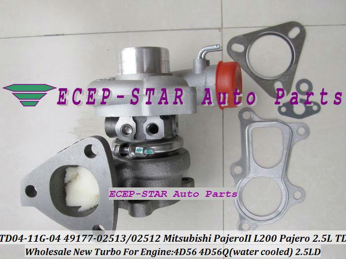 TD04-11G-04 49177-02512 49177-02513 Turbo Turbine Turbocharger For Mitsubishi Pajero L200 Pajero 2.5 TD 4D56 (3)