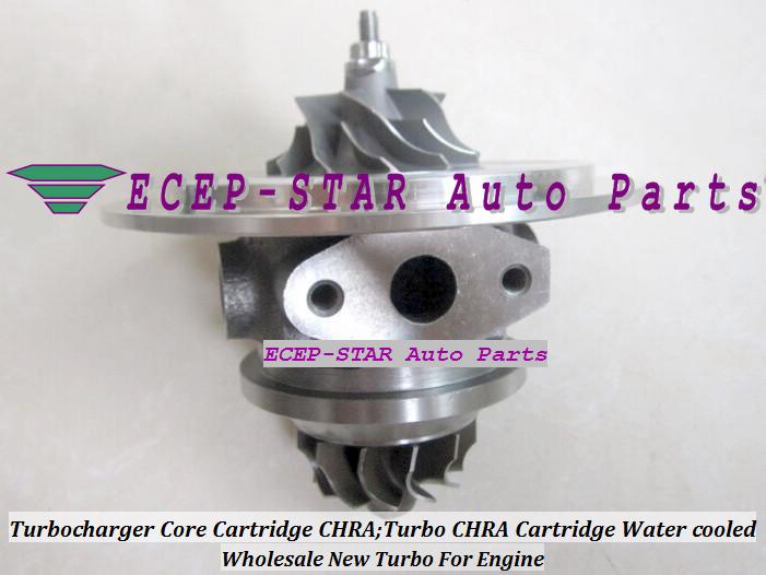 Turbocharger Core Cartridge CHRA;Turbo CHRA Cartridge Water cooled 715843-5001S