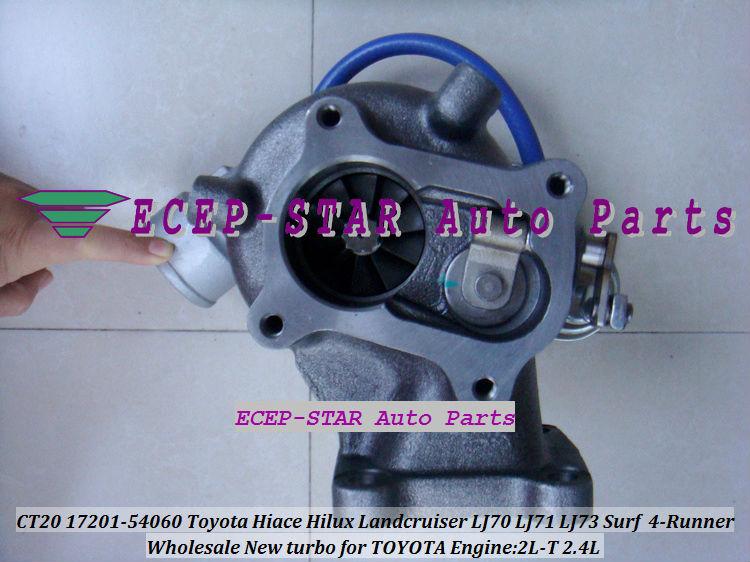 CT20 17201-54060 Toyota Hiace Hilux Landcruiser LJ70 LJ71 LJ73 Surf 4-Runner 2.4L 2L-T Turbocharger (1)