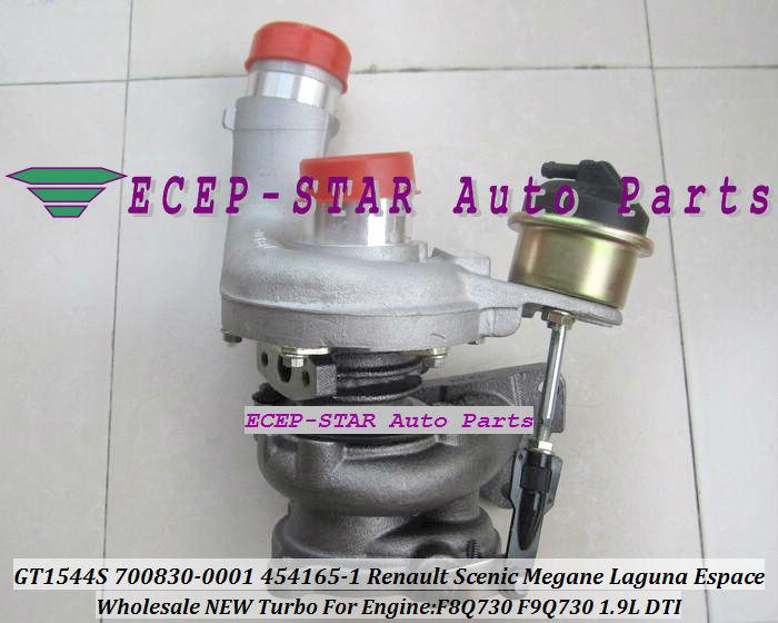 GT1544S 700830-0001 700830-0003 454165-0001 700830 Renault Scenic Megane Laguna Espace 1.9DTI F9Q730 1.9L turbocharger (4)