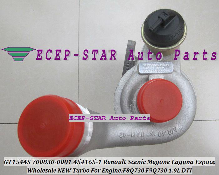 GT1544S 700830-0001 700830-0003 454165-0001 700830 Renault Scenic Megane Laguna Espace 1.9DTI F9Q730 1.9L turbocharger (5)