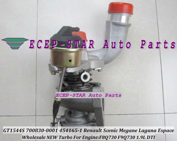 GT1544S 700830-0001 700830-0003 454165-0001 700830 Renault Scenic Megane Laguna Espace 1.9DTI F9Q730 1.9L turbocharger (1)