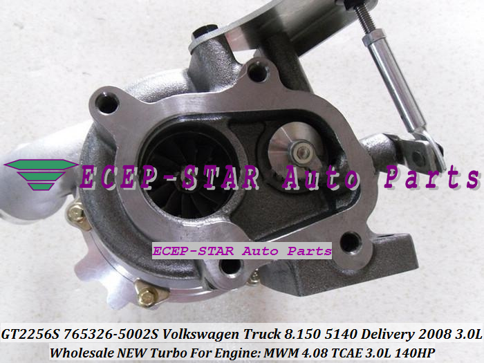 GT2256S 765326-5002S 765326 Turbocharger For VW Volkswagen Truck 8.150 5140 Delivery 2008 Engine MWM 4.08 TCAE 3.0L 140HP with Gaskets (1)
