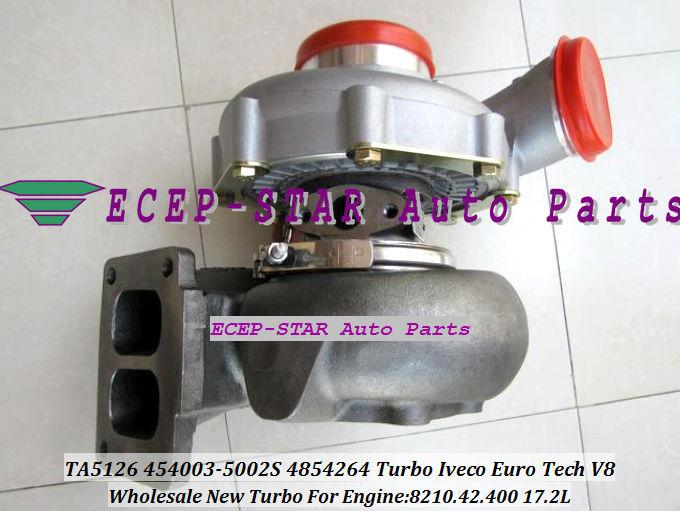 TA51 4854264 454003-0002 454003-5002S Turbo turbine Turbocharger for Iveco Euro Tech V8 8210.42.400 17.2L (3)