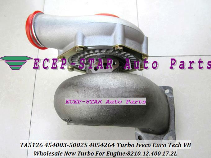TA51 4854264 454003-0002 454003-5002S Turbo turbine Turbocharger for Iveco Euro Tech V8 8210.42.400 17.2L (1)