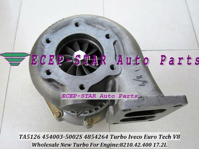TA51 4854264 454003-0002 454003-5002S Turbo turbine Turbocharger for Iveco Euro Tech V8 8210.42.400 17.2L