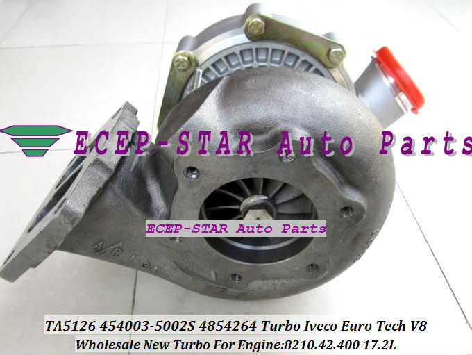 TA51 4854264 454003-0002 454003-5002S Turbo turbine Turbocharger for Iveco Euro Tech V8 8210.42.400 17.2L (4)