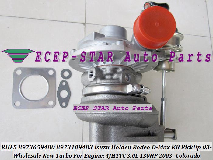 RHF5 8973659480 8973109483 Turbine Turbo Turbocharger For ISUZU Holden Rodeo D-Max KB PickUp 2003- Colorado 4JH1TC 3.0L 130HP (7)