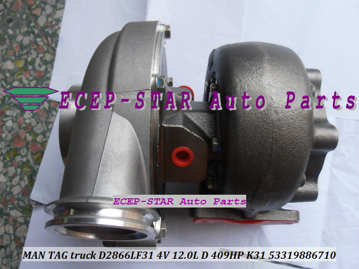 K31 53319706710 53319886710 MAN TAG truck D2866LF31 4V 12.0L D 409HP turbo turbocharger (4)