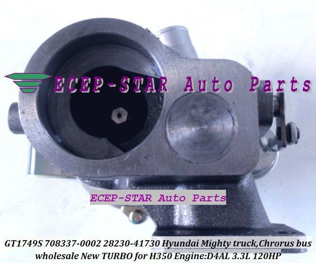 GT1749S 708337-0002 28230-41730 KIA HYUNDAI Mighty truck Chrorus Bus D4AL 3.3L Turbocharger (5)